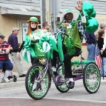 Carrie Johnson - Grand Marshal of the St Patrick's Day Parade 2012